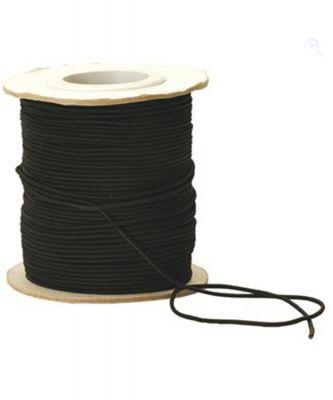 Vango Shockcord 2.5mm Black Colour: ONE COLOUR