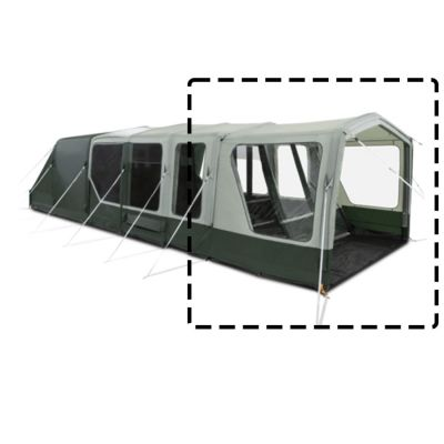 Dometic Ascension FTX 401 Canopy Colour: GREEN