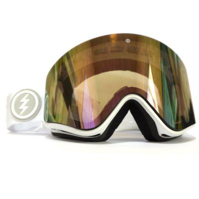 Electric EGX Ski Goggle Ex Display Colour: WHITE