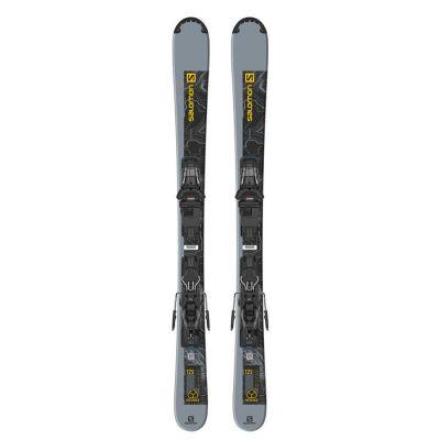 Salomon Ski Set E Distance 125 + M10 GW L90 Colour: BLACK/YELLOW / LENGTH: 125