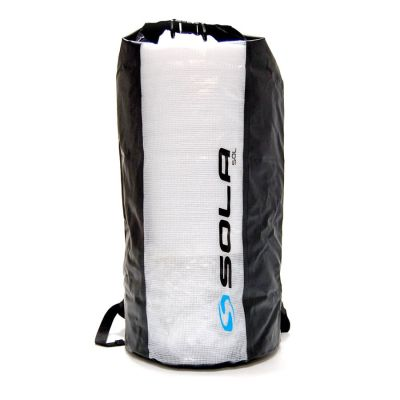 Sola 50 ltr Dry Backpack Colour: BLACK/CLEAR