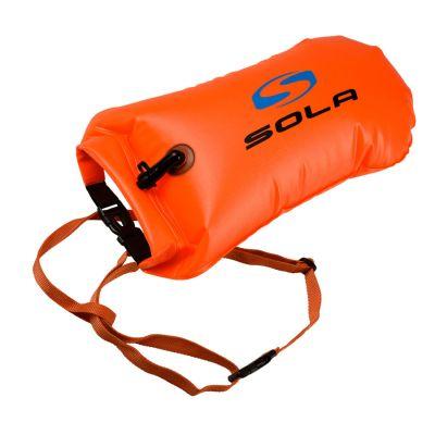 Sola Inflatable Dry-Swim Bag Colour: ORANGE