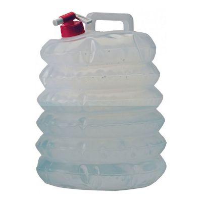 Vango Foldable Water Carrier 8L Colour: CLEAR