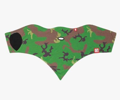 Airhole Standard 2 Layer Woodland Camo 16/17 Colour: GREEN/BROWN / SIZE: M/L