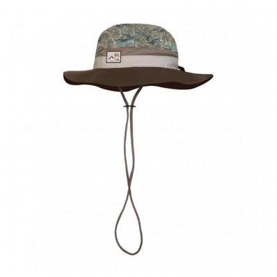 Buff Booney Hat Zinc Multi Colour: BROWN