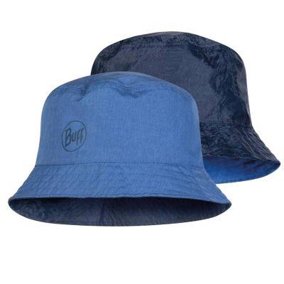 Buff Travel Bucket Hat Colour: BLUE