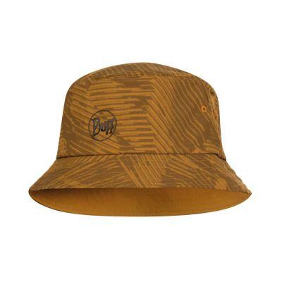 Buff Trek Bucket Hat Colour: BROWN