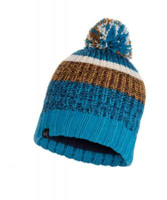 Buffwear Stig Knitted Hat Colour: BLUE