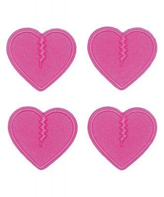 Crab Grab Mini Hearts Colour: PINK