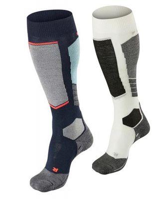 Falke SK2 Wool Women Skiing Knee-high Socks