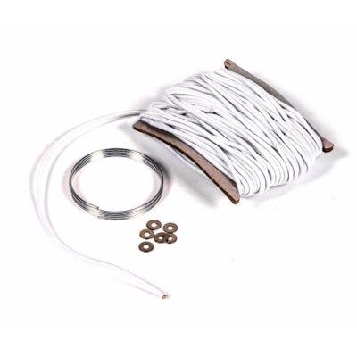 Kampa Shock Cord Replacement Kit Colour: WHITE