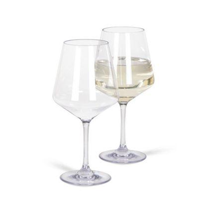 Kampa Soho White Wine Glass Colour: CLEAR