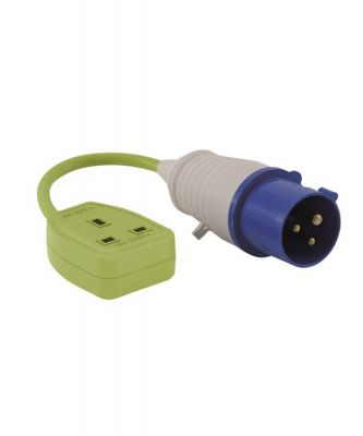 Outwell Conversion Lead Socket - UK Colour: ONE COLOUR
