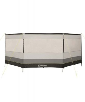 Outwell Windscreen Premium Round Grey/Black Colour: ONE COLOUR