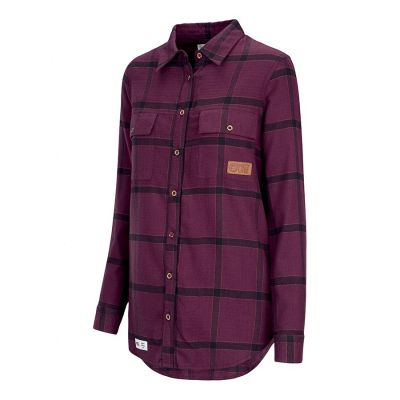 Picture Jade Shirt Womens Colour: BURGUNDY / SIZE: M