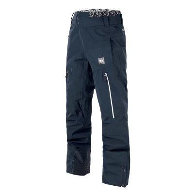 Picture Object Pants Dark Blue Colour: DARK BLUE / SIZE: L