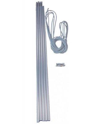 Vango Alloy Pole Set 9.5mm Colour: ONE COLOUR