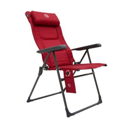 Vango Radiate DLX Chair Colour: RED