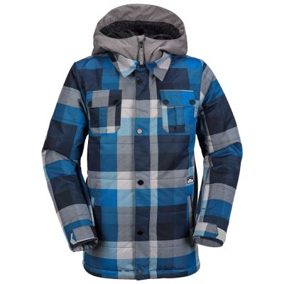 Volcom Neolithic Insulated Jacket Boys Colour: BLUE / SIZE: 12 Y