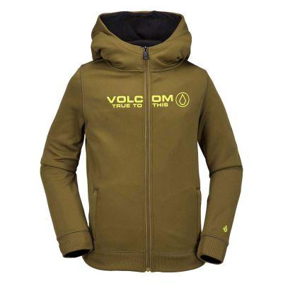 Volcom Taghum Bonded Fleece Boys Colour: MOSS / SIZE: M