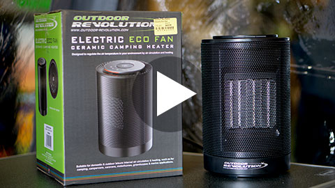 OUTDOOR REVOLUTION ELECTRIC ECO HEATER PACKS A PUNCH!