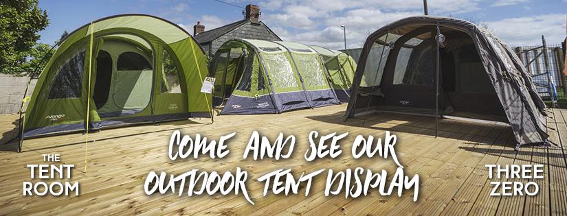 Tents On Display