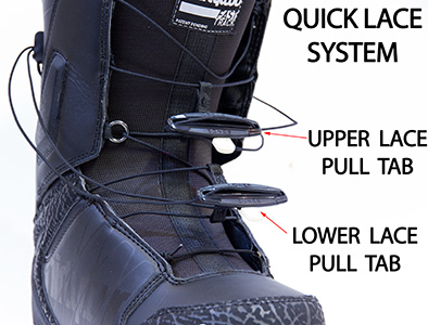 Quick Lace Snowboard Boot