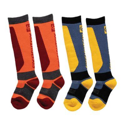 686 Boys Knockout Sock 2 Pack
