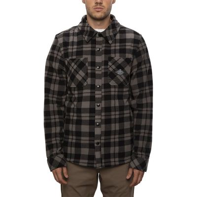 686 Mens Sierra Fleece Flannel