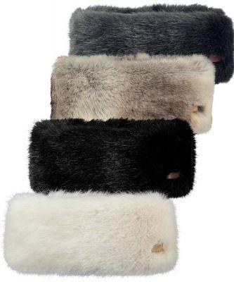 Barts Fur Headband Womens