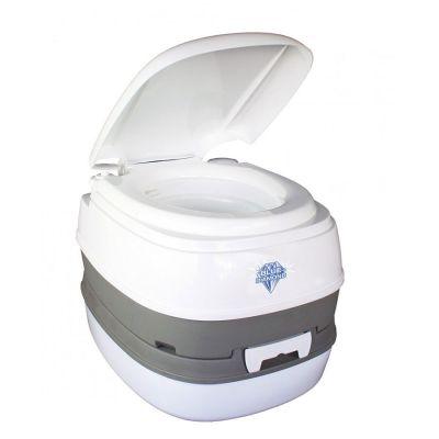 Blue Diamond When Nature Calls Flushing Toilet 16L Colour: WHITE GREY