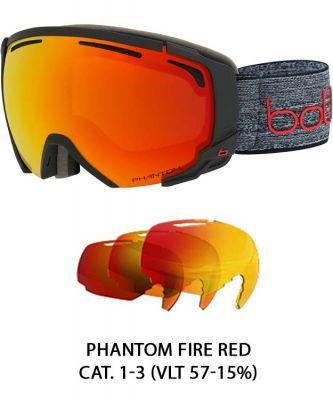 Bolle Supreme OTG Photochromic Goggle Colour: GREY