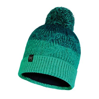 Buffs Masha Knitted Hat Colour: TURQUOISE