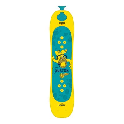 Burton Kids Riglet Snowboard Colour: BLUE/YELLOW / SIZE: 90