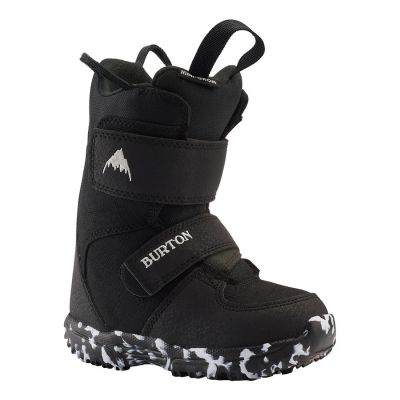 Burton Toddlers Mini Grom Snowboard Boot Colour: BLACK / SIZE: 10