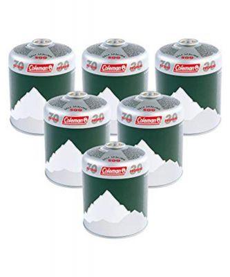 Coleman C500 Gas Cartridge 6 Pack Colour: ONE COLOUR