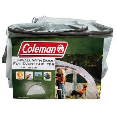 Coleman Event Shelter Pro L Sunwall Door Silver Colour: SILVER