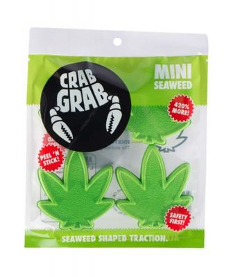 Crab Grab Mini Seaweed Stomp Pad Colour: GREEN