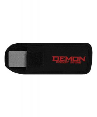 Demon Pocket Edge Stone Colour: BLACK