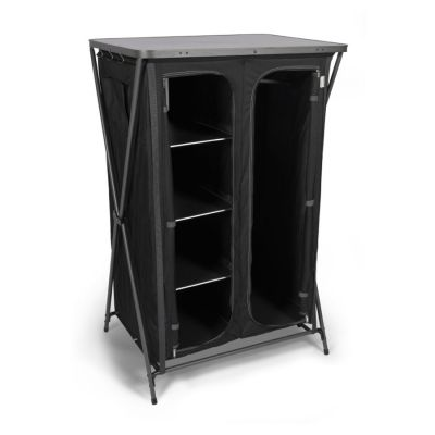 Kampa Maddie Wardrobe Colour: BLACK