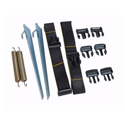 Kampa Universal Tie Down Kit Colour: BLACK