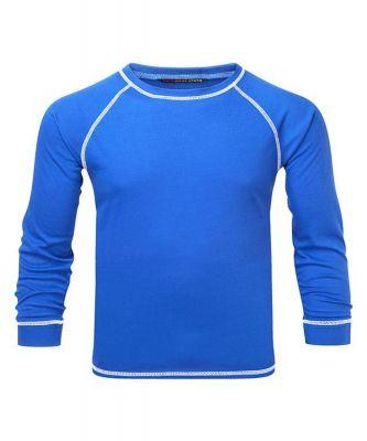 Manbi Kids Supatherm Top Blue Colour: BLUE / SIZE: 5-6YRS