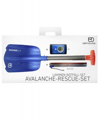 Ortovox Avalanche Rescue Kit 3+ Colour: ONE COLOUR