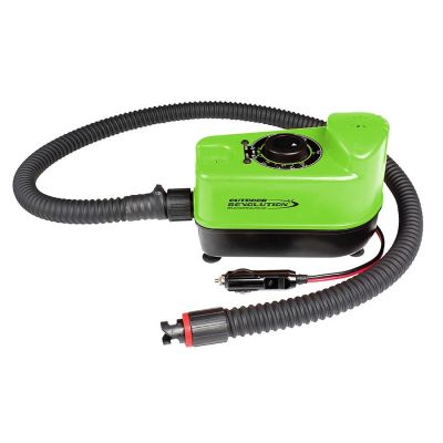 Outdoor Revolution 12V DC Electric Air Frame Inflator Colour: GREEN