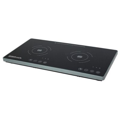 Outdoor Revolution Double Induction Hob Colour: BLACK