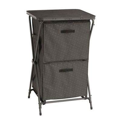 Outwell Domingo Cabinet Colour: CHARCOAL