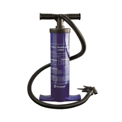 Outwell Double Action Pump Colour: BLUE