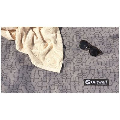 Outwell Flat Woven Carpet Wood Lake 7ATC Colour: GREY