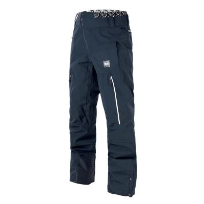 Picture Object Pants Dark Blue Colour: DARK BLUE / SIZE: L