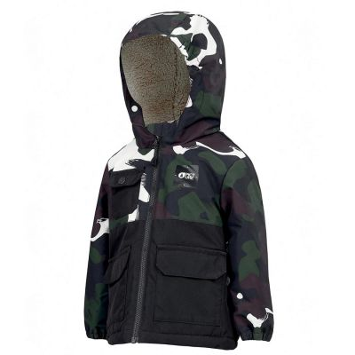 Picture Snowy Jacket Boys Colour: BLACK / SIZE: 18-24m